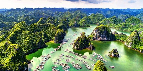 Poznávací zájezd: Vietnam ze severu na jih