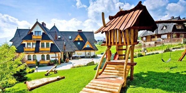 Relax v Tatrách pro dva i rodinu: polopenze a spa