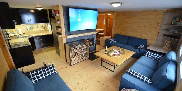 Moderní horská chata v Krušných horách pro 10 osob