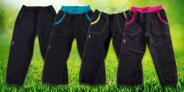 Letní dětské softshellové kalhoty značky Gudo