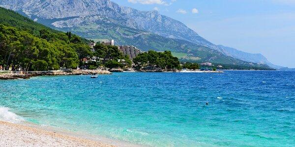 Podgora na pobřeží Jadranu: 10 dní pro páry i rodiny