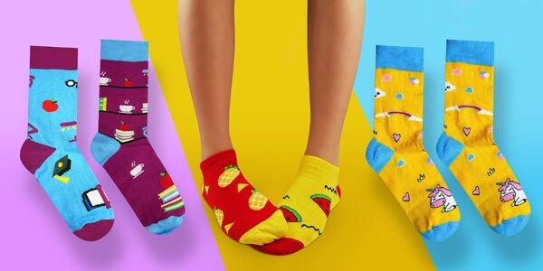 Veselé ponožky ze Slovenska: výběr z několika vzorů