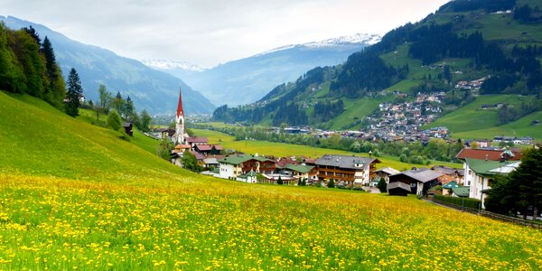 Letní pobyt v rakouských Alpách s all inclusive