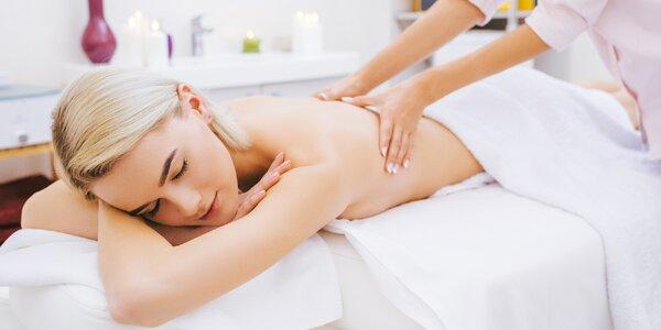 100 min péče v Diamond Spa: masáž, lázeň a maska