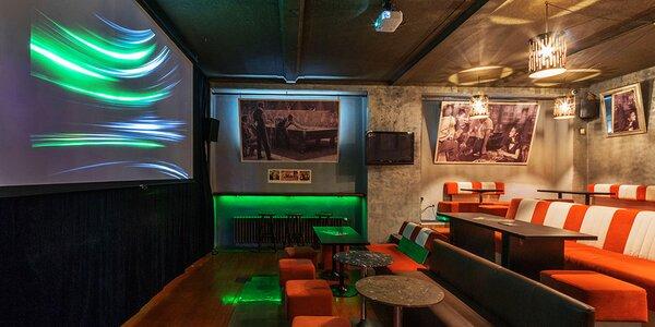 Večerní kino v baru Tobaco s občerstvením