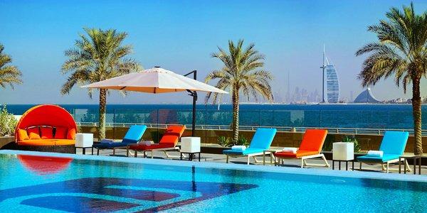 4* resort Aloft Palm Jumeirah s polopenzí