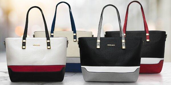 Elegantní kabelky Monica & Co v 9 barvách