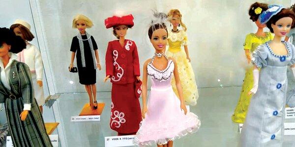 Výstava Květuše Adámkové - Barbie