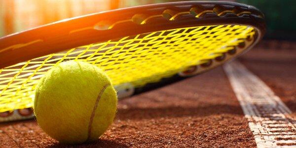 Víkendový pronájem tenisových kurtů až na 8 hod.