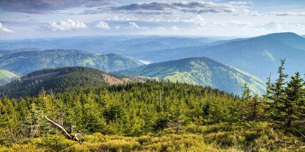 Pobyt v přírodě na severní Moravě s polopenzí