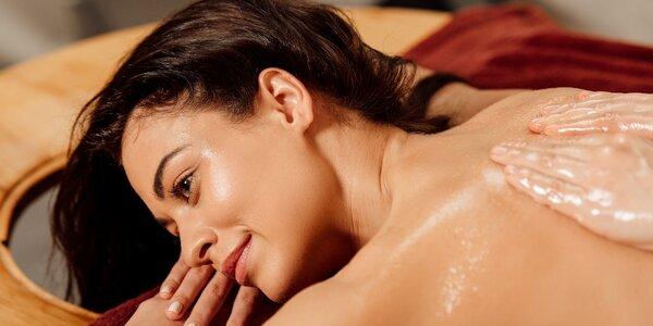 100 minut luxusní péče: Olejová masáž a rybičky