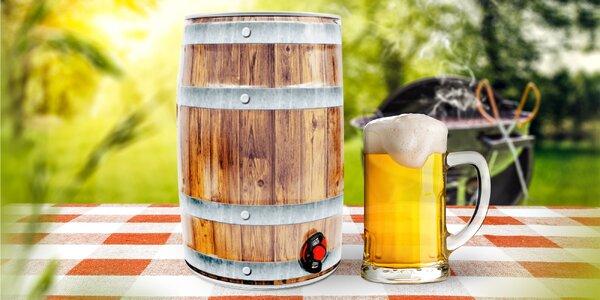 5l soudek řemeslného nefiltrovaného piva Auersperg