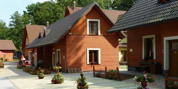 Rodinné chaty v Jeseníkách až pro 11 osob