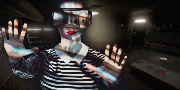 Úniková hra ve virtuální realitě pro dva