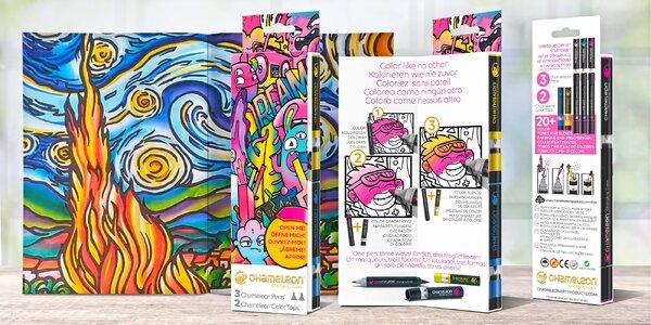 Pro kreativce: kouzelné tónovací fixy Chameleon