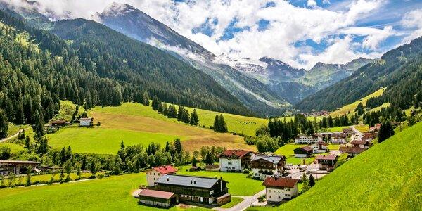 Tyrolská pohoda u Hintertuxu: polopenze i koupání