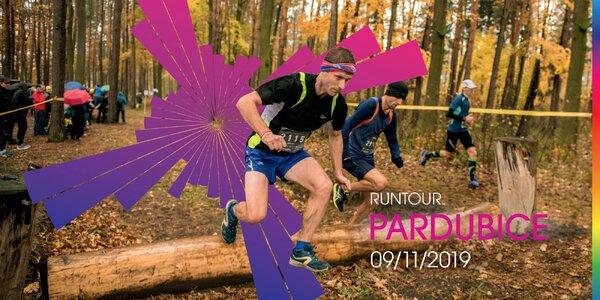 RunTour 2019: startovné na běh v Pardubicích