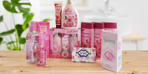 Kosmetika z bulharských růží