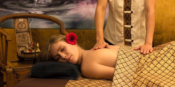 Blahodárné thajské masáže v salonu Touch Spa
