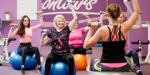 Měsíční členství v dámském fitness po celé ČR