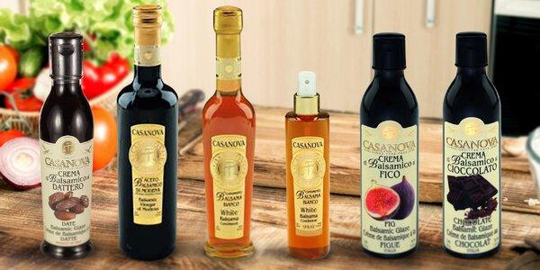 Italské octy balsamico: mnoho příchutí
