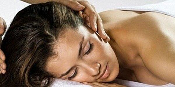 Relaxační masáž s léčebným efektem v délce 90 minut