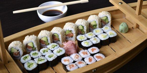 Sushi sety u Mr. Woka: losos, avokádo i kaviár