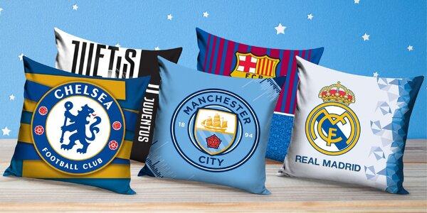 Polštářové povlaky pro fotbalové nadšence: 5 klubů
