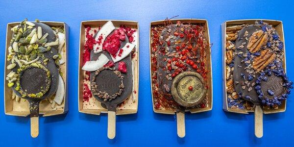 Zmrzlina nebo tabulka čokolády podle vaší fantazie
