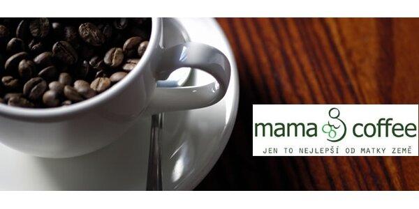 100 Kč za nápoje v Mama Coffee v hodnotě 200 Kč