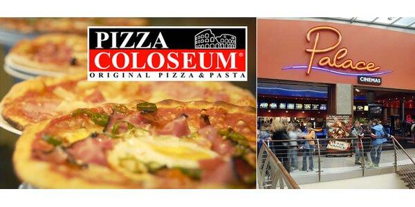 450 Kč za poukaz na konzumaci v Pizza Coloseum v hodnotě 350 Kč a 2 vstupenky…