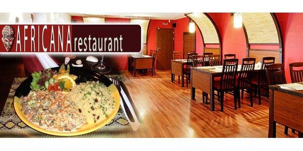 199 Kč za africké menu pro 1 osobu. Exotika na talíři v centru Brna.