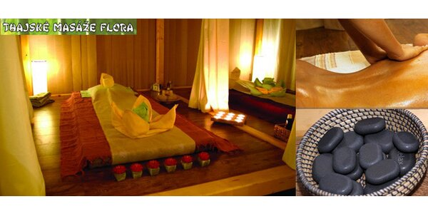 Jen 649 Kč za úžasnou 90 minutovou masáž lávovými kameny se slevou 50%!