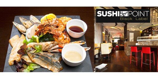 945 Kč za mořský talíř pro dva v restauraci Sushi Point se slevou 50%!