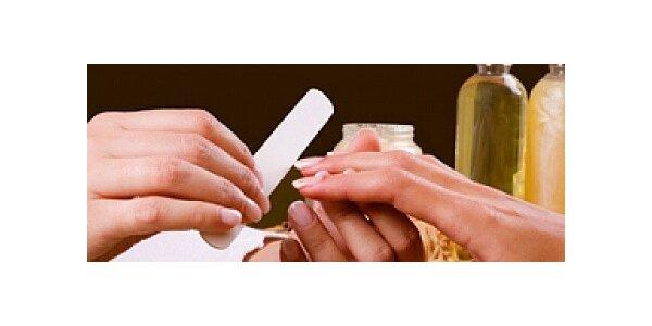 Ozdravující manikúra P-Shine s masáží rukou
