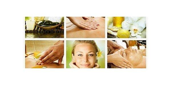 Květinová masáž dle Vašeho výběru - levandule, zelený čaj, jasmín či jedle