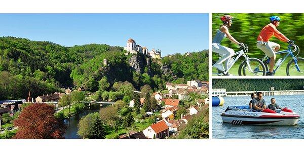 3denní dovolená pro dva u Vranovské přehrady