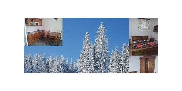 Pronájem apartmánu v Kašperských Horách na Šumavě