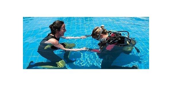 Darujte super zážitek pod stromeček – základní kurz potápění