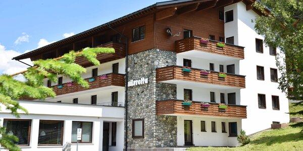 Dovolená v rakouských Alpách s polopenzí a saunou