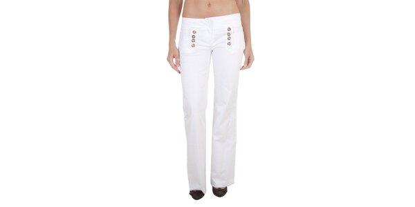 Dámské bílé chino kalhoty Relish