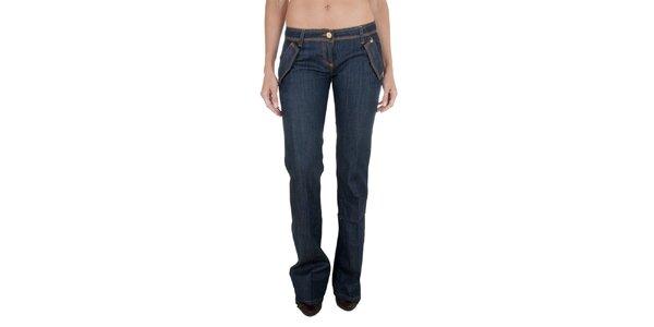 Tmavě modré džíny Relish