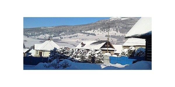 Lyžovačka a wellness na chatě pro partu v Nízkých Tatrách na 3 dny nebo víc