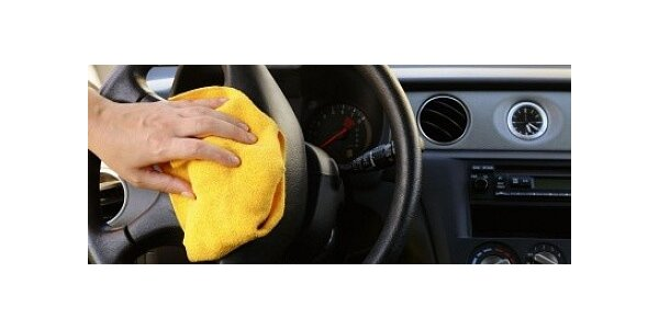 Vyčištění interiéru Vašeho automobilu