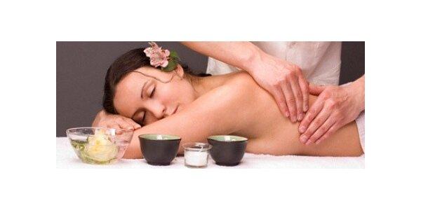 Klasická masáž pro jednu osobu v délce 60 minut