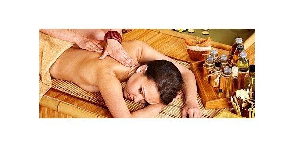 Výběr ze 3 druhů masáží v délce 90 minut