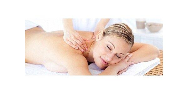 Relaxační masáž kokosovým olejem v délce 60 minut
