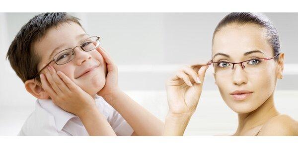 Tvrzené plastové brýlové čočky nebo obruby francouzské výroby
