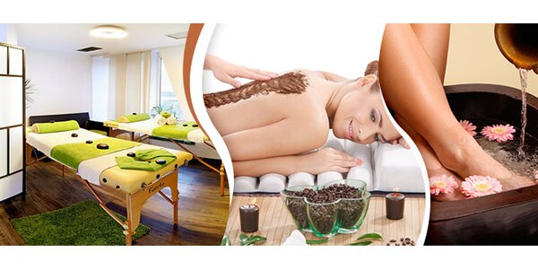 Pedikúra, kávová masáž i sauna v Green Wellness (3 hod)