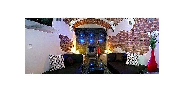 Romantický pobyt v centru Prahy se vstupem do soukromého Relax centra